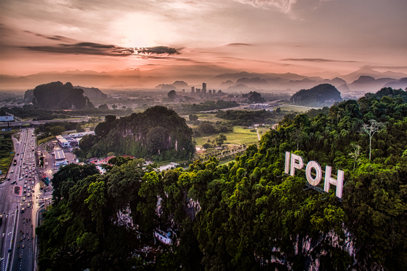 DAY 01 - AIRPORT | IPOH (APPROX TRAVEL TIME 3 HRS)