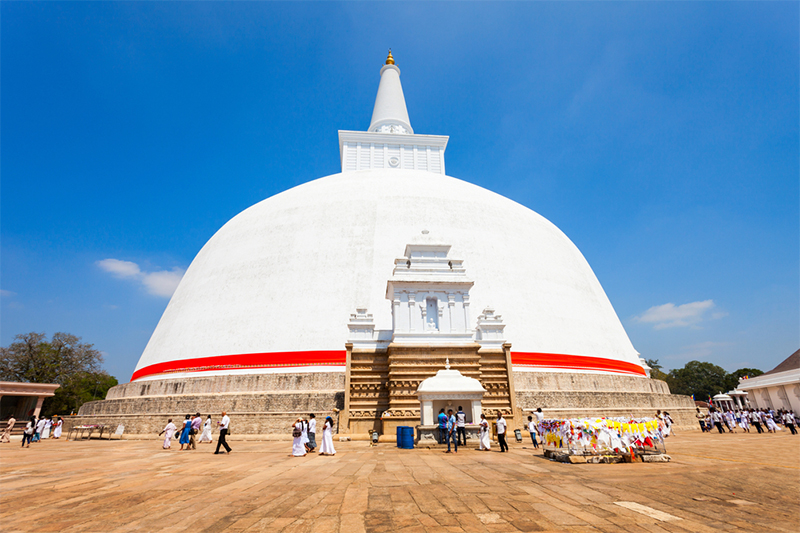 DAY 03 - ANURADHAPURA SIGHTSEEING | TRINCOMALEE (APPROX 2 HRS TRAVEL TIME)